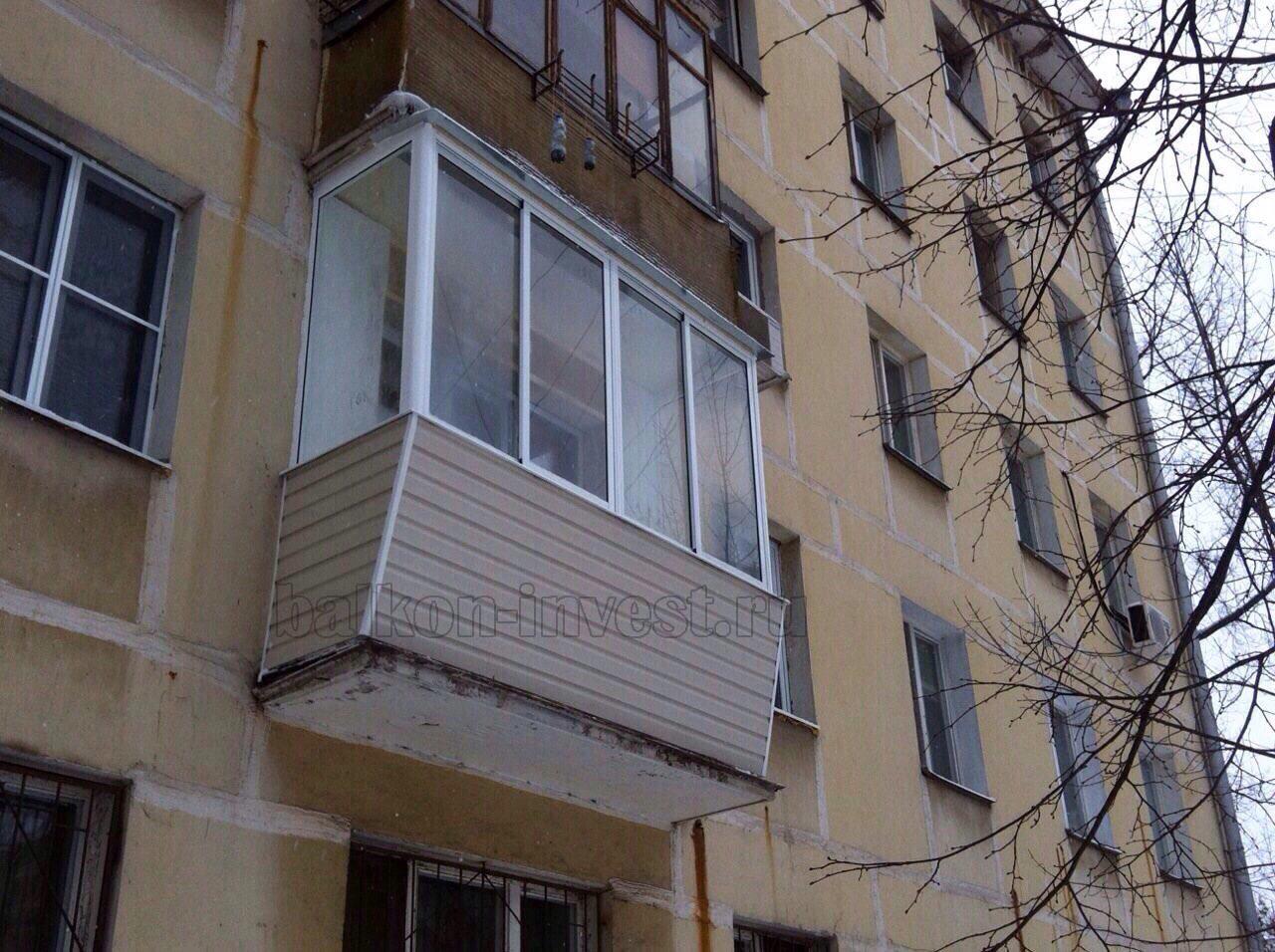 Балконы в хрущевках материал. - примеры ремонта - каталог ст.