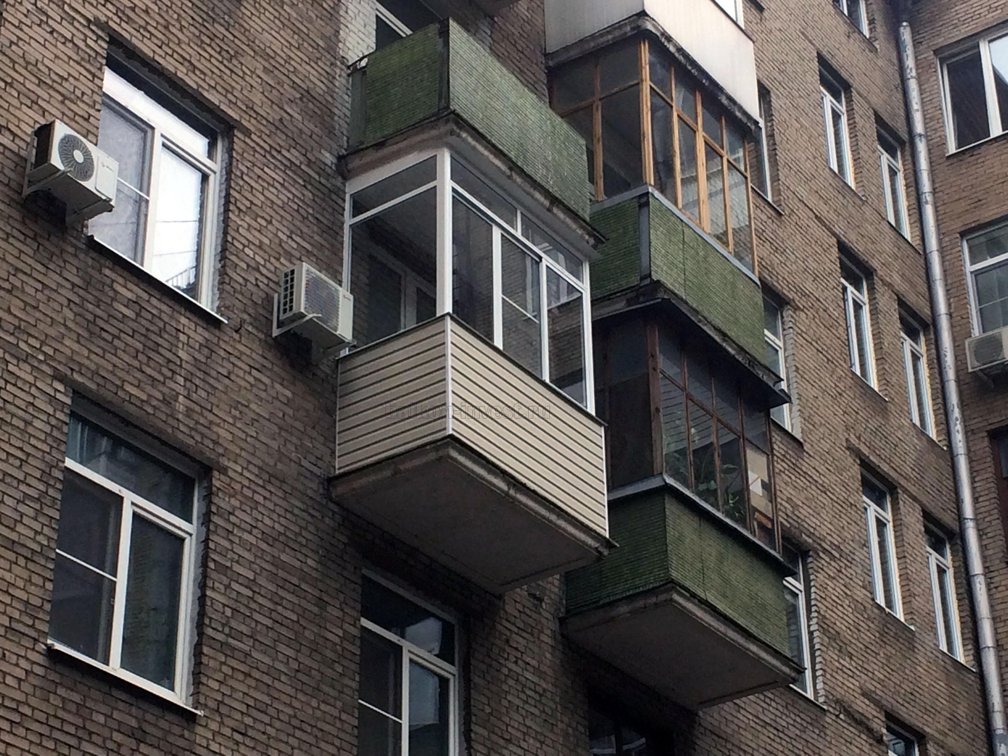 Остекление балкона цены на работы и фото.